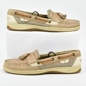 Sperry Top-Sider Leather Boat Shoes Women's Size 8